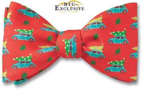 Christmas Tree Holiday bow tie