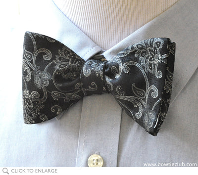 Black Diamond Bow Tie
