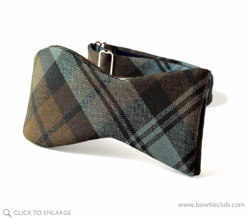 Black Watch Weathered Wool Tartan