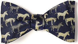 Democratic donkey bow tie