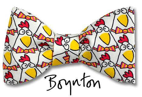 Sandra Boynton Bow Ties Dapper Chickens