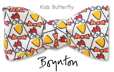 Dapper Chickens Boynton *Kids* Bow Tie