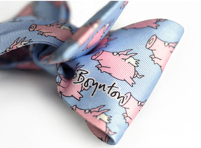 When Pigs Fly Sandra Boynton *Kids* Bow Tie