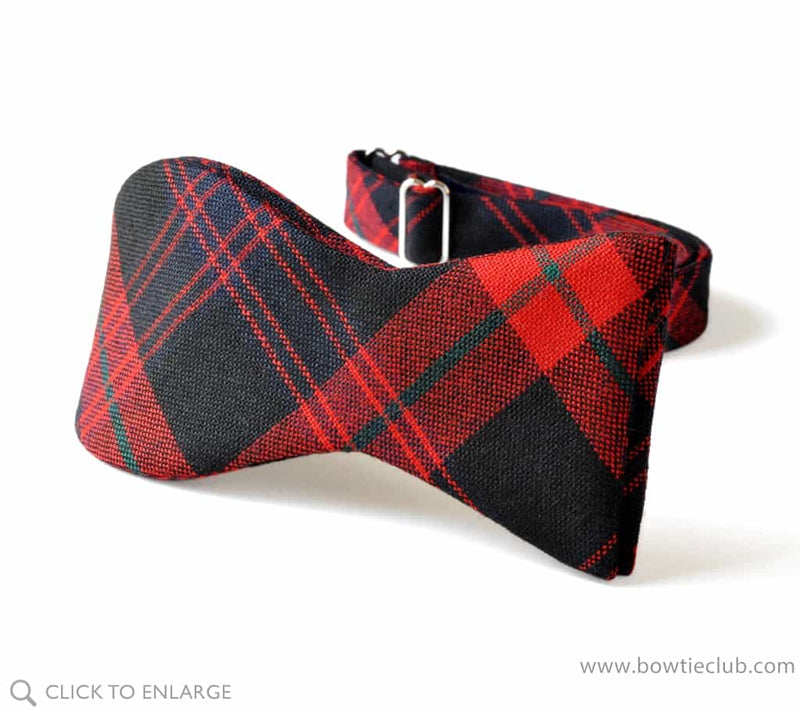 Brown Modern Wool Tartan
