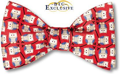 Owl Bow Tie American Made