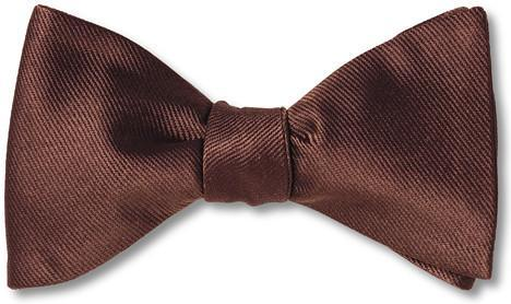 bow ties burgundy solid formal wedding silk american made