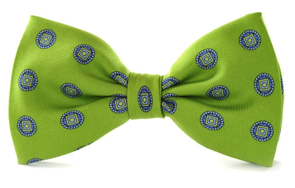 Green Clip-on Bow Ties American Made