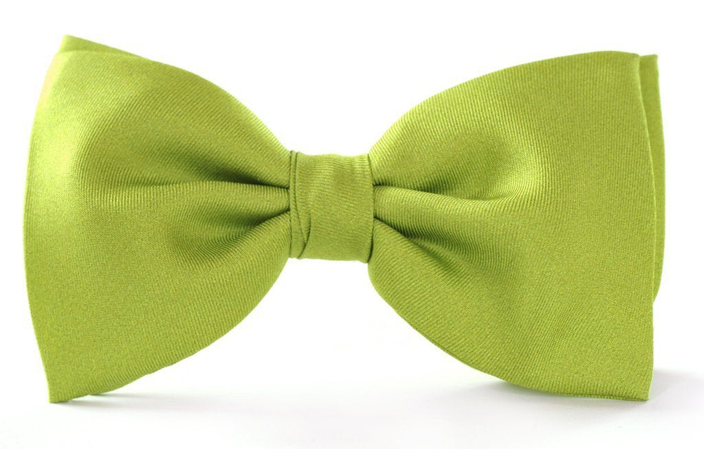 Green Clip-on Bow Ties