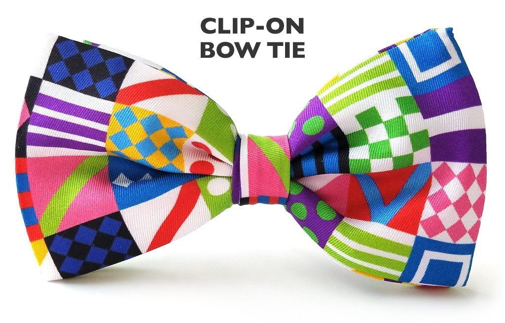 Derby Day Clip-on Bow Ties