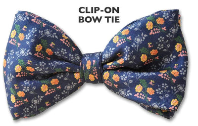 Clip On Bow Tie 123