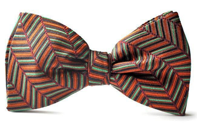 Clip-on Bow Ties American Made 011