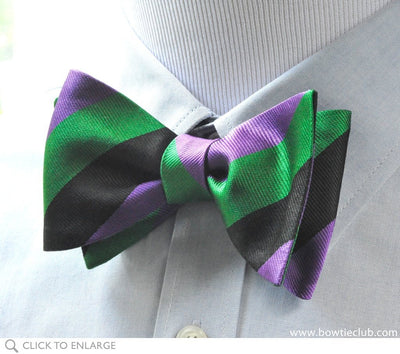 Dartmouth bow tie on shirt
