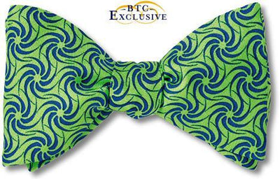 Green Bow Tie called Don Quixote