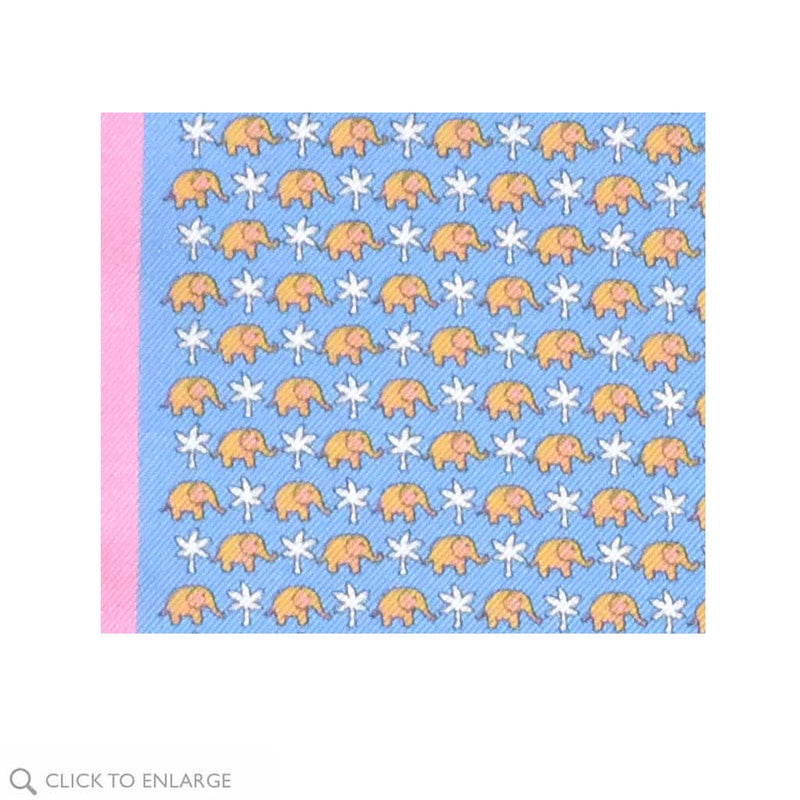 Elephants Pocket Square