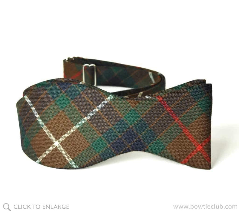 Fraser Hunting Wool Bow Tie
