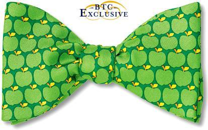 bow ties apples granny smith green american made