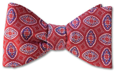 Red Silk Bow Ties | American Made Bow Ties | Hasedera