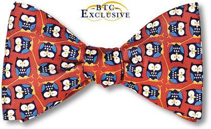 Hedwig Owl Bow Tie