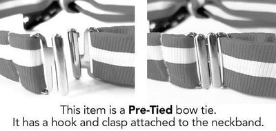 Appleseed Pre-tied Bow Tie