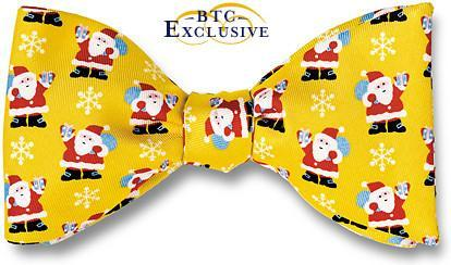 bow ties santa christmas holiday american made