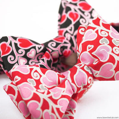 Juliet Bow Tie Hearts Valentine's Day American Made