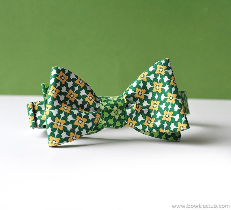 St Patrick's Day Bow Ties Kilkenny reversed