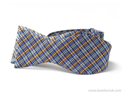 Blue Plaid Bow Ties | Loch Ness