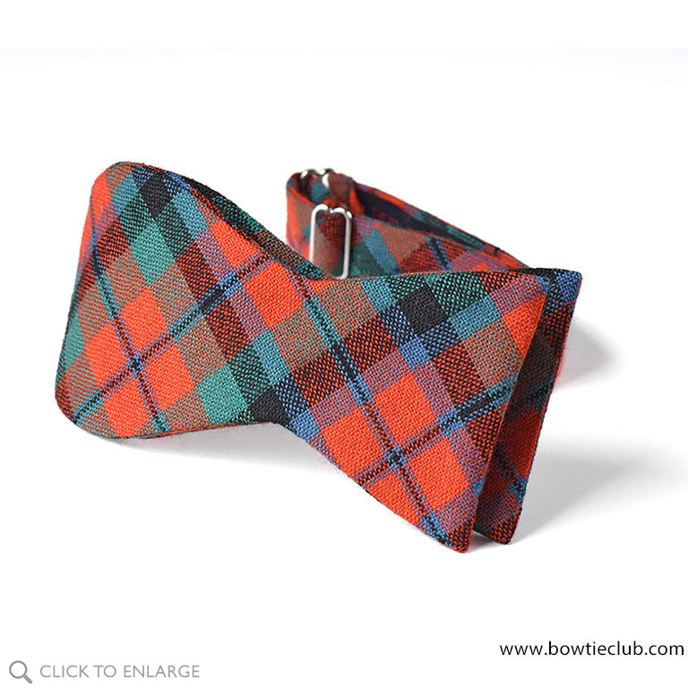 MacNaughton Ancient Wool Tartan Bow Ties