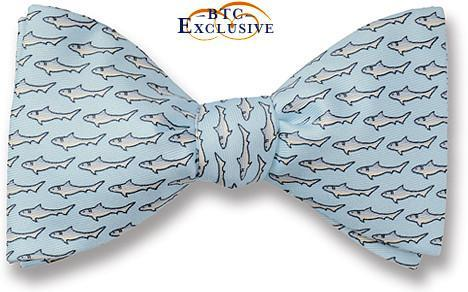 bow ties sharks summer american made blue