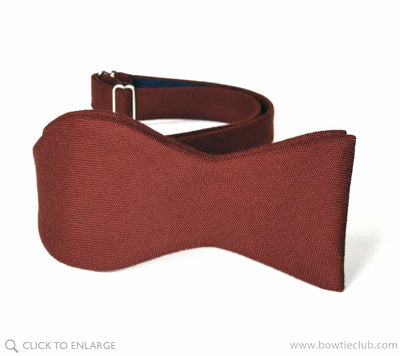 Maroon Wool Bow Ties