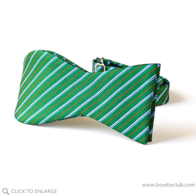freestyle christmas green bow tie
