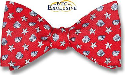 bow ties sea shells summer beach american made