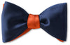 Navy/Orange Satin Reversible