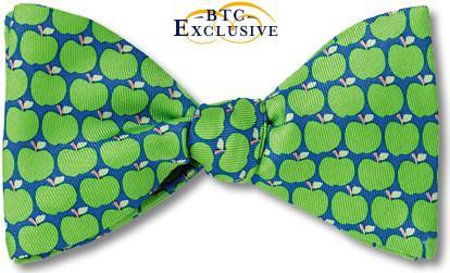 bow ties apples green granny smith orchard teacher american made