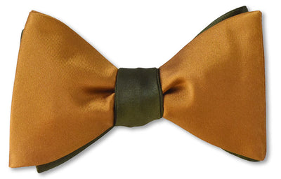 Ochre/Army Satin Reversible
