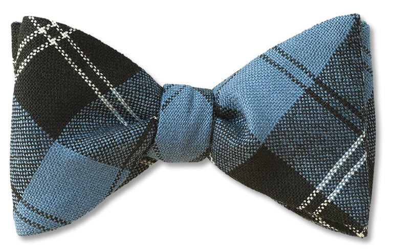 Ramsay Blue Ancient Wool Tartan Bow Tie