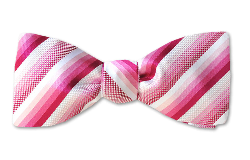 Raspberry Stripe SE Self-tie