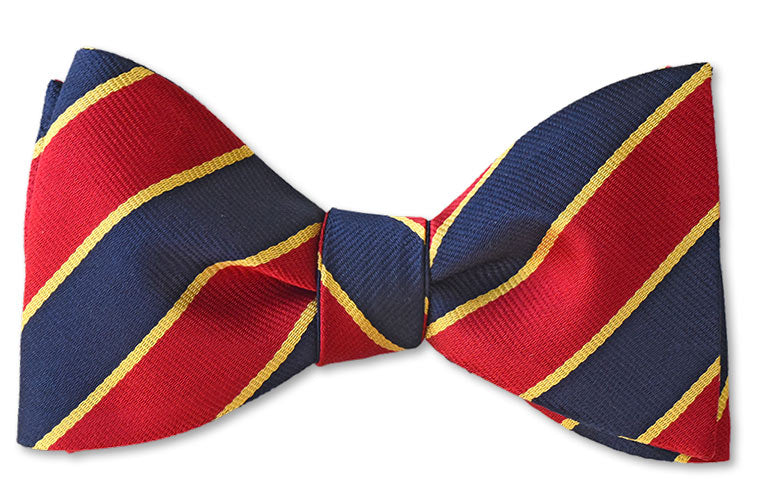 Regimental Bow Tie