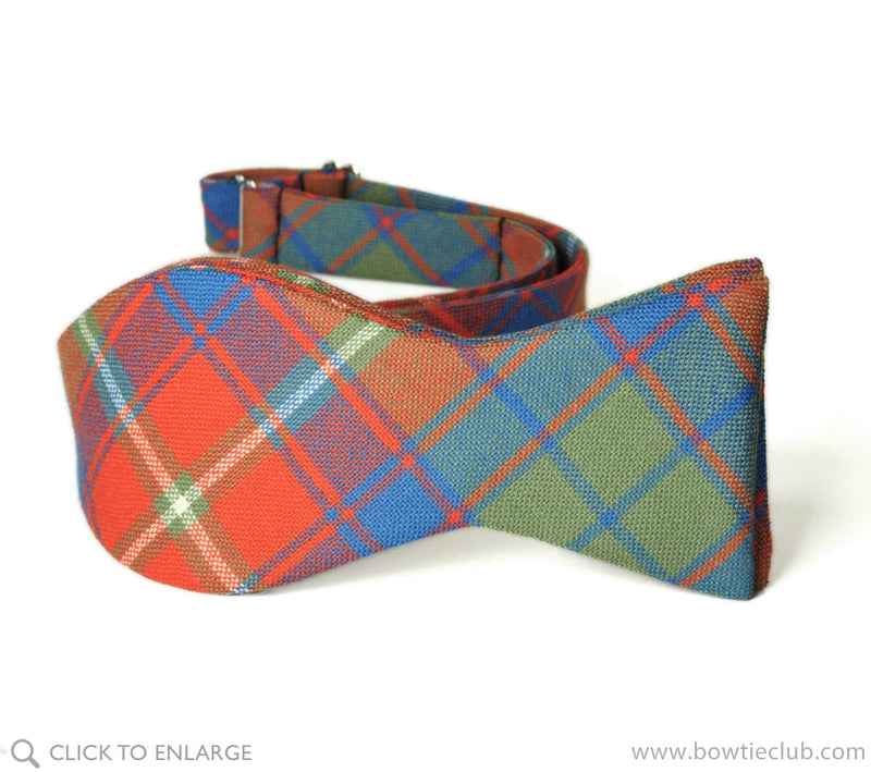 Roxburgh Wool Scottish Tartan
