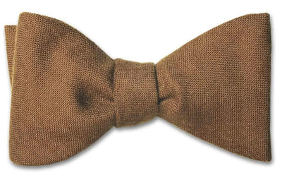 Russet Wool Bow Tie