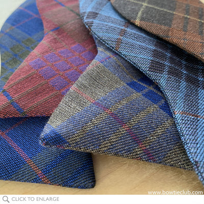 British Woven Wool Bow Tie Collection