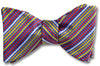 Self-tie pre-tied big and tall longer neckband bow ties