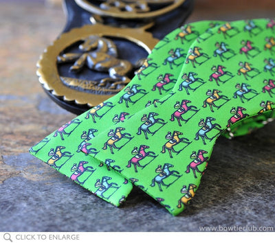 green horse bow tie
