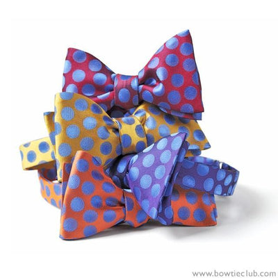 Beautiful Polka Dots Bow Ties