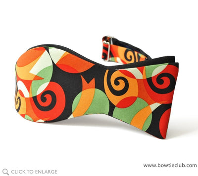 two panel reversible bow tie self tie