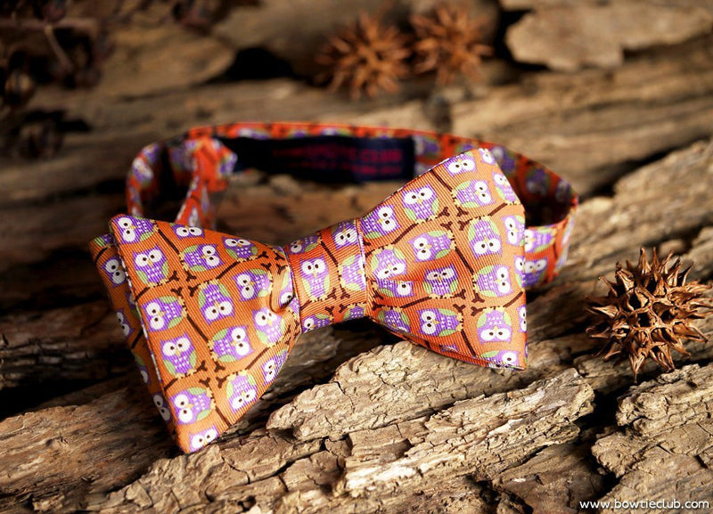 bow ties owl motifs american made