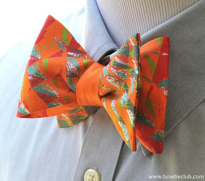 Orange Bow Tie | American Made Bow Ties | Yeats Bow Tie