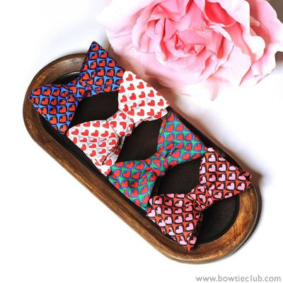 bow ties hearts valentine's day gift american made