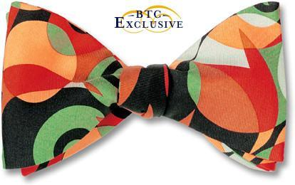 bow ties designer contemporary american made silk twill