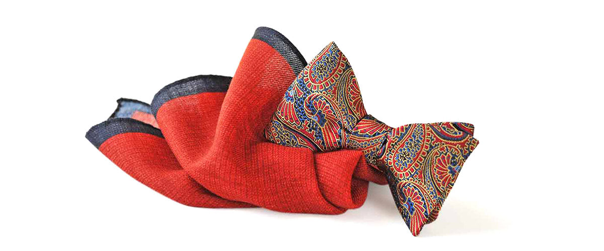 Burma Elephants Bow Ties